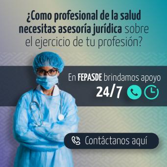 Servicios FEPASDE para los profesionales de la salud