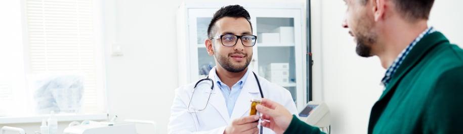 Relación paciente con personas de la salud