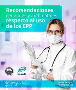 Guía: Recomendaciones generales y ambientales respecto al uso de los EPP